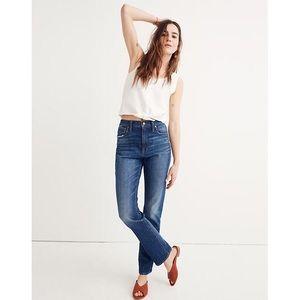 Madewell High Rise Slim Boy Jeans Sz 25